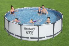 Bestway Metal Frame Pool Komplett Set 427x107 56950