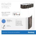 Bestway Power Steel Oval Frame Pool Set 732 x 366 5611T