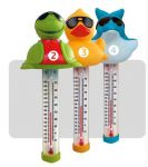 Tier Poolthermometer als Delphin oder Ente