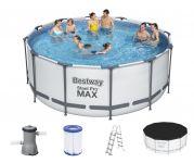 Bestway Steel Pro Frame Pool 366x122 Komplettset 56420 GS