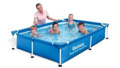 Bestway Splash Jr. Frame Pool 221x150x43cm 56401
