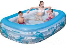 Deluxe Rectangular Family Pool Bestway 54042