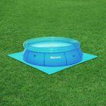 Bestway Bodenplatten Poolbodenschutz 40x(50x50cm) 10m²