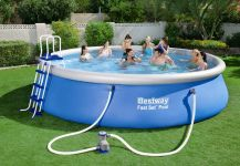 Bestway Fast Set Pool Komplett Set 549x122 57291 GS