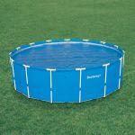 Bestway Solarplane für 366er Frame Pools  58242