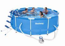 Bestway Steel Pro Frame Pool 366x100 Set 56260 GS B-Ware