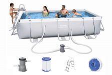 Bestway Power Steel Pool Set 404 x 201 56441 GS