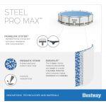 Bestway Steel Pro Pool Set 488x122 5612Z