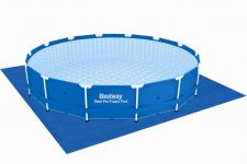 Bestway Metal Frame Pool Komplett Set 427x100 56422