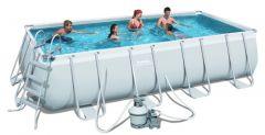 Bestway Frame Pool Set 488 x 244 mit Sandfilter 56671