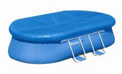 Bestway Oval Fast Set Pool Komplett Set 549x366 56461