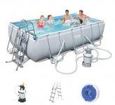 Bestway Frame Pool Set 404 x 201 mit Sandfilter 56442