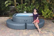 Aufblasbare Bestway Lay-Z-Spa Whirlpool Einfassung 35cm 58466