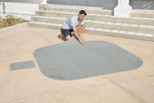 Bestway Lay-Z-SPA Whirlpool Bodenschutz Fliesen Set 58461