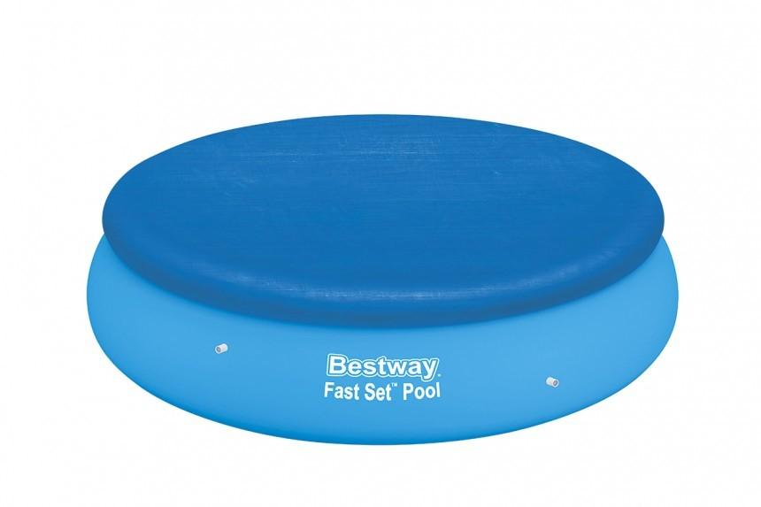 bestway abdeckplane 305 cm f r fast set pools bw 58033. Black Bedroom Furniture Sets. Home Design Ideas