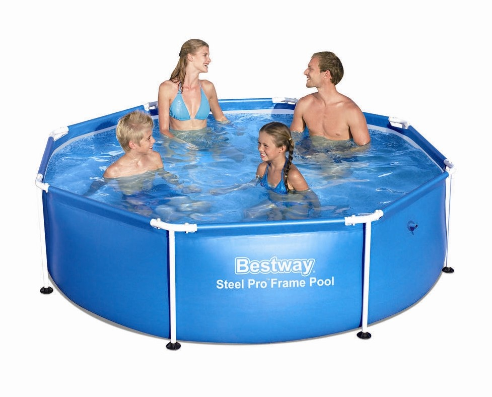 Bestway steel pro frame pool 244x61cm 56431 - Steel frame pool ...