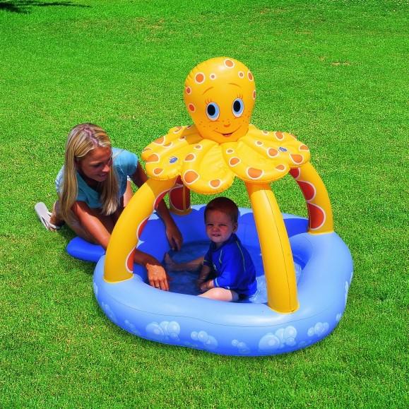 bestway planschbecken kinder pool octopus 52145. Black Bedroom Furniture Sets. Home Design Ideas