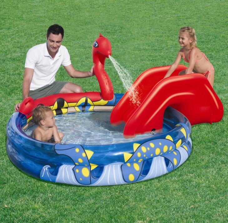 Bestway Kinder Pool + Wasserrutsche