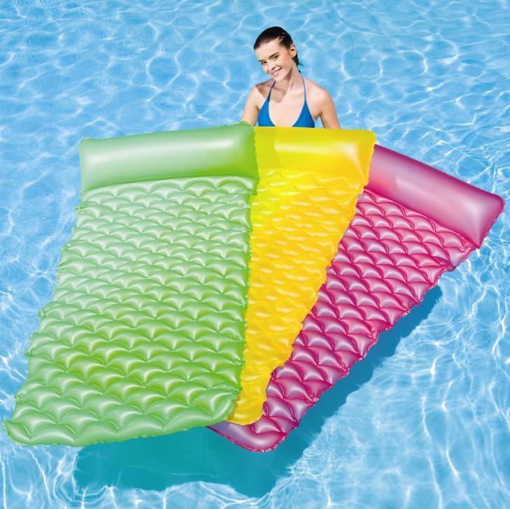 Bestway luftmatratze float roll 44020 - Colchonetas para piscina ...