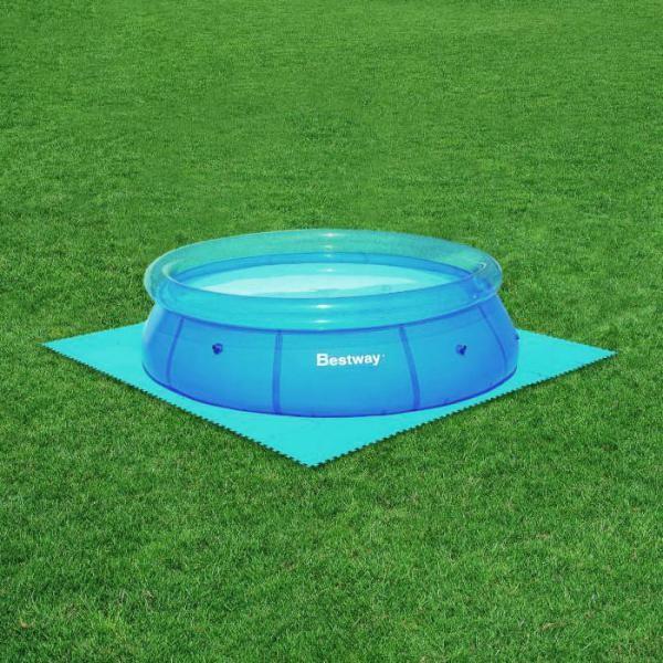Bestway Bodenplatten Poolbodenschutz 40x50x50cm 10m²