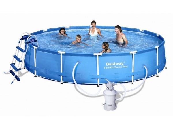 Frame pool steel pro preisvergleich die besten angebote for Pool 457x122 mit sandfilteranlage