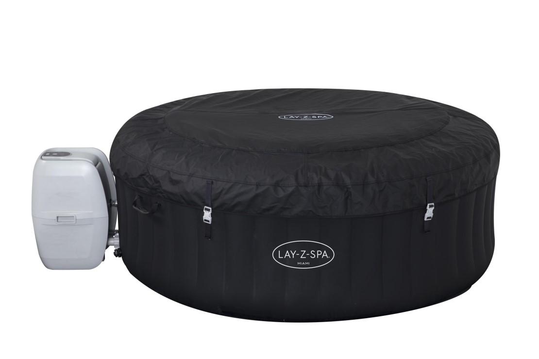 bestway whirlpool lay z spa miami 54123. Black Bedroom Furniture Sets. Home Design Ideas