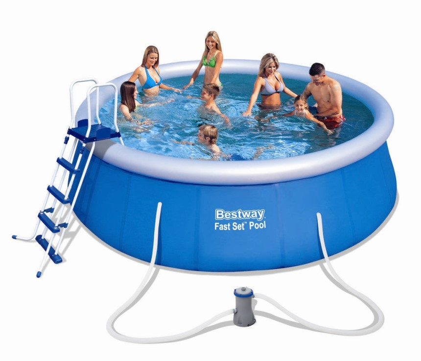 Bestway fast set pool preisvergleiche for Hornbach pool set