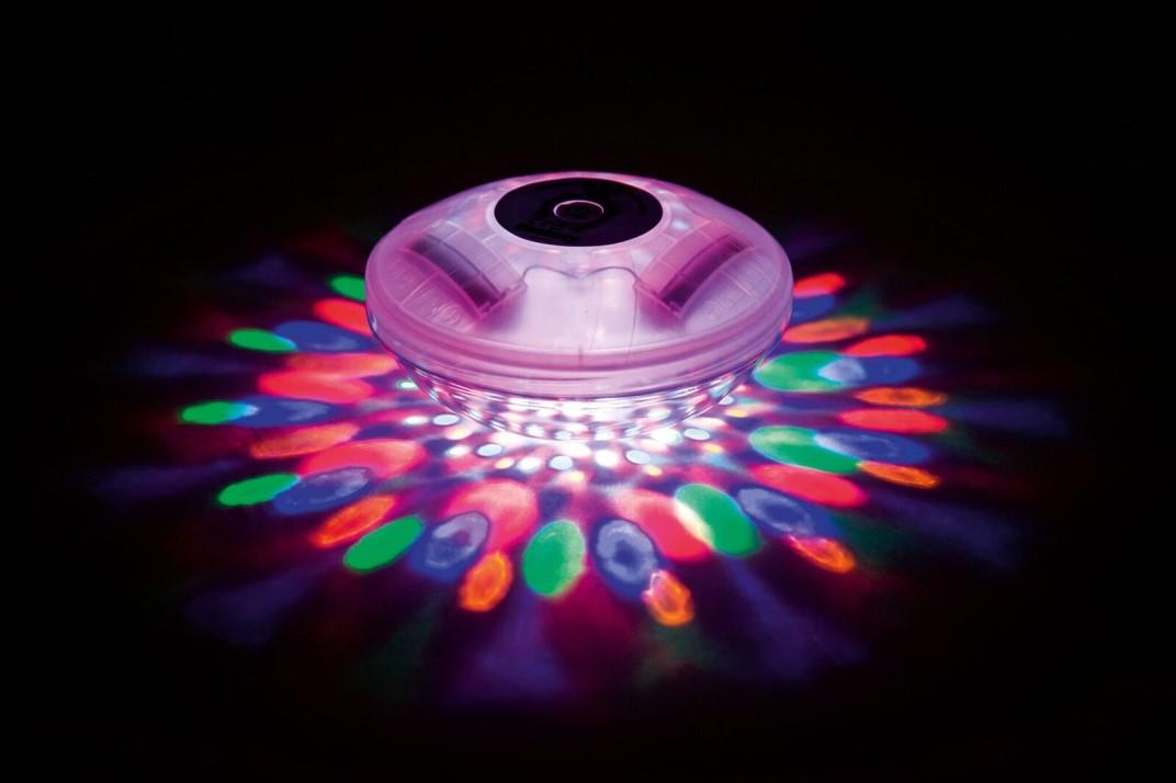 Bestway LED Pool Lampe mit Farbwechsler und Lichtmuster 58419
