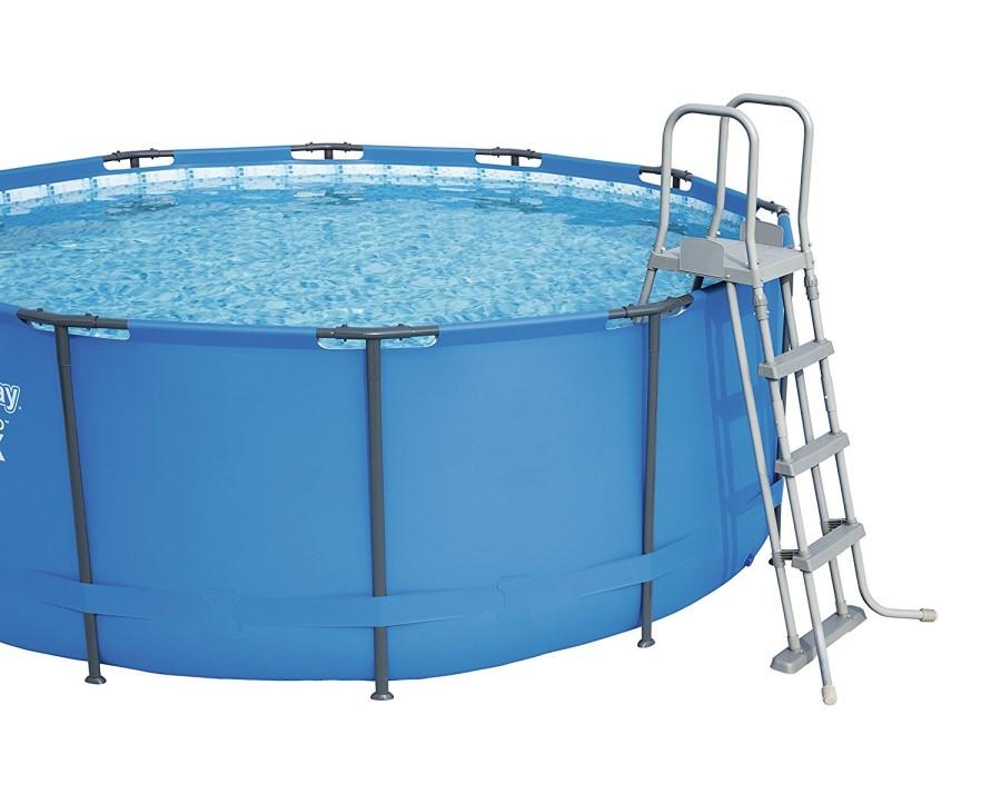 Bestway frame pool set 412 x 201 mit sandfilter 56457 b ware - Bestway pool mit sandfilteranlage ...