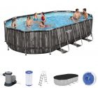 Bestway Power Steel Oval Frame Pool Set 610 x 366 5611R