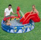 Bestway Kinder Pool + Wasserrutsche Viking Play 53033